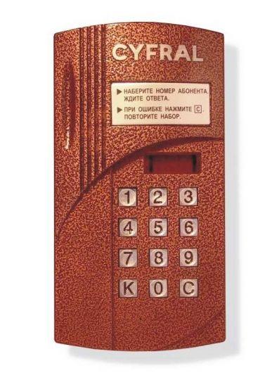 Блок вызова домофона (на ворота) Cyfral CCD- 2094 М