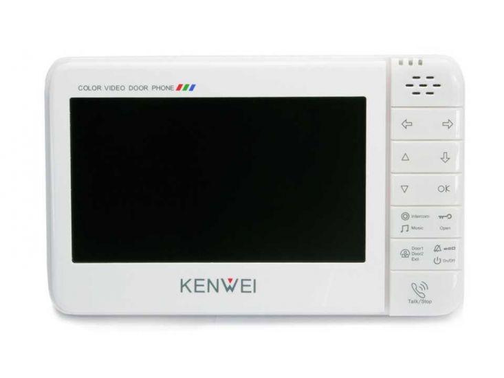 Монитор Kenwei KW-128C-W200 видеодомофона