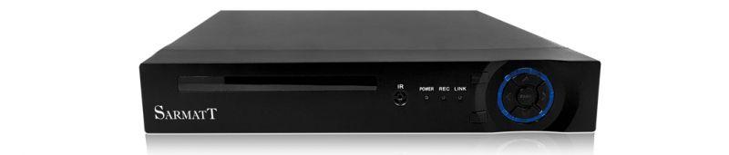 Видеорегистратор SarmatT DSR-414-h 4-канальный гибридный