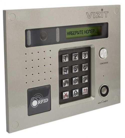 Блок вызова домофона Vizit БВД-432 RCB