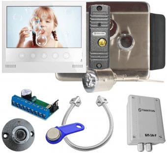 Комплект контроля доступа Tantos TS-EL2369 Classic уличный, видеодомофон Selina