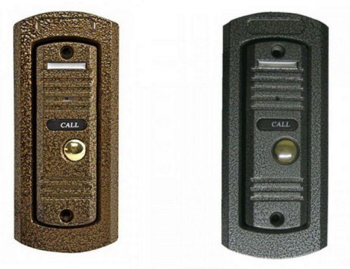Панель SSDCAM SSD-700 (Серебро/Медь/Черный) вызывная для видеодомофона
