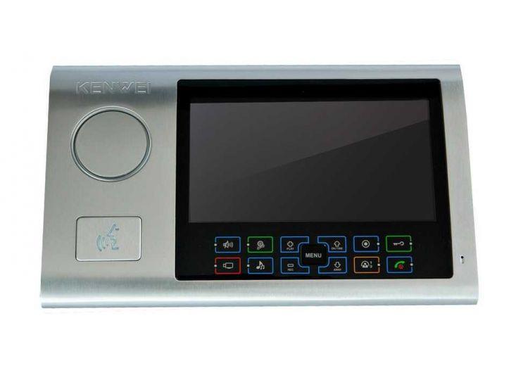 Монитор Kenwei KW-S701C-W200 видеодомофона