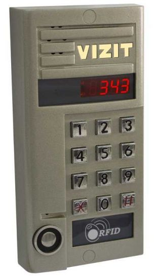 Блок вызова домофона Vizit БВД-343 RTCPL