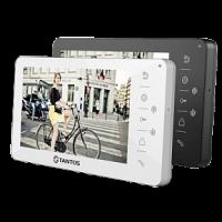 Монитор Tantos Amelie HD VZ / XL (черный, белый) видеодомофона