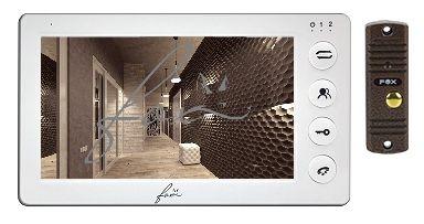 Комплект Fox FX-VD7N-Kit (Янтарь 7W) видеодомофона