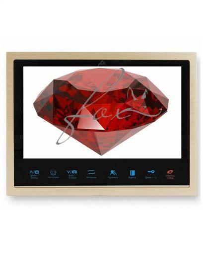 Монитор Fox FX-HVD100C V2 видеодомофона (Рубин)