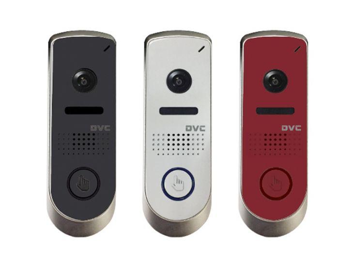 Панель Tor-net DVC-514C (черный, серый, красный) вызывная для видеодомофона