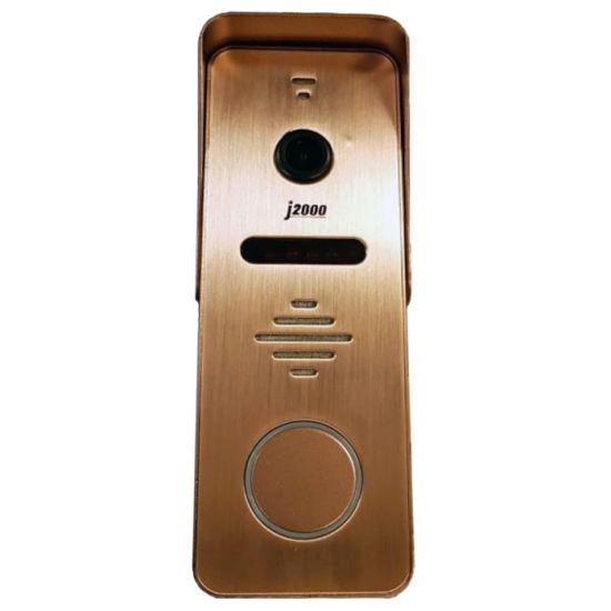 Панель J2000-DF-Антей AHD 2,0Mp (серебро, бронза) вызывная для видеодомофона