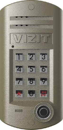 Блок вызова домофона Vizit БВД-314 T