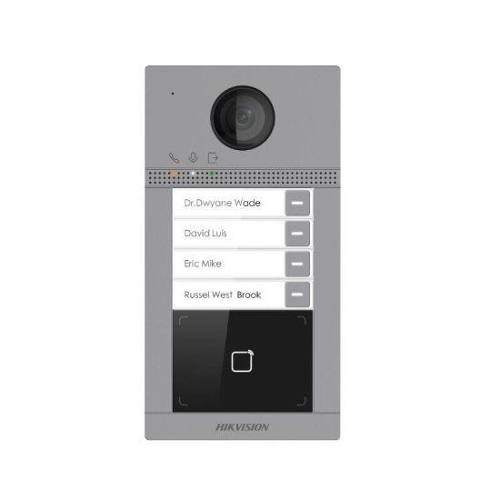 IP Панель Hikvision DS-KV8413-WME1 вызывная на четырех абонентов