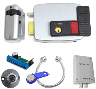 Комплект контроля доступа Cisa 11.630.60, считыватель, блок питания