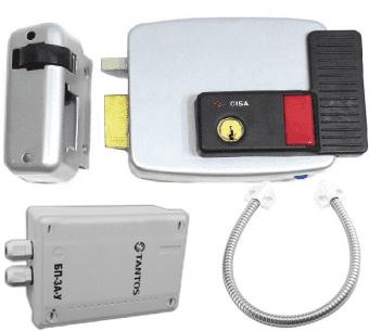 Комплект контроля доступа CISA 11.630.60.1, 2, 3, 4, блок питания, переход