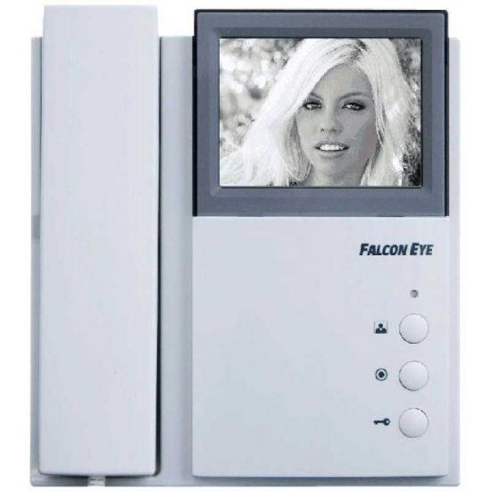 Монитор видеодомофона Falcon Eye FE-4HP2 (белый)