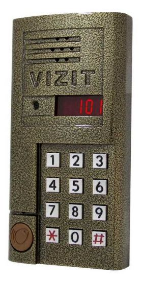 Блок вызова домофона Vizit БВД-SM101 RCPL