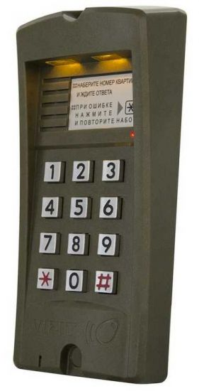 Блок вызова домофона Vizit БВД-310 F