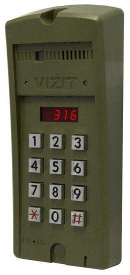 Блок вызова домофона Vizit БВД-316 F