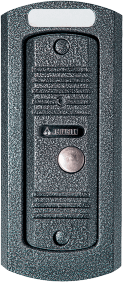 Врезная панель Activision AVC-305 (антик, медь) вызывная для видеодомофона