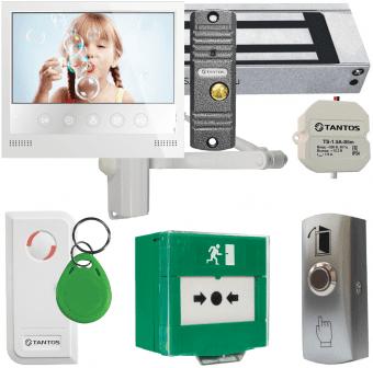 Комплект контроля доступа Tantos TS-ML300, видеодомофон Selina