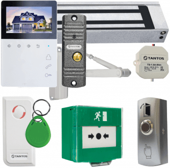 Комплект контроля доступа Tantos TS-ML300 видеодомофон Elly