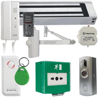 Комплект контроля доступа Tantos TS-ML300, аудиодомофон