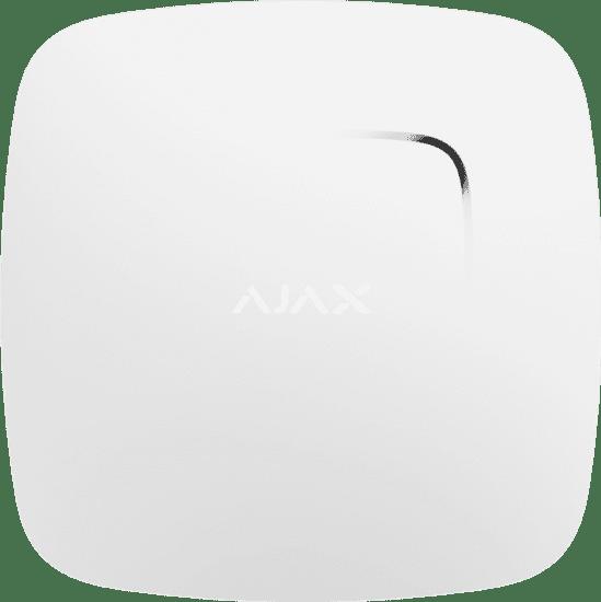 Пожарный датчик с сенсорами температуры и угарного газа Ajax FireProtect Plus White