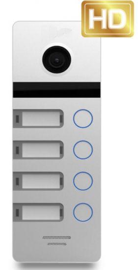 Панель JVS OPTIMA 4HD вызывная на 4 абонента