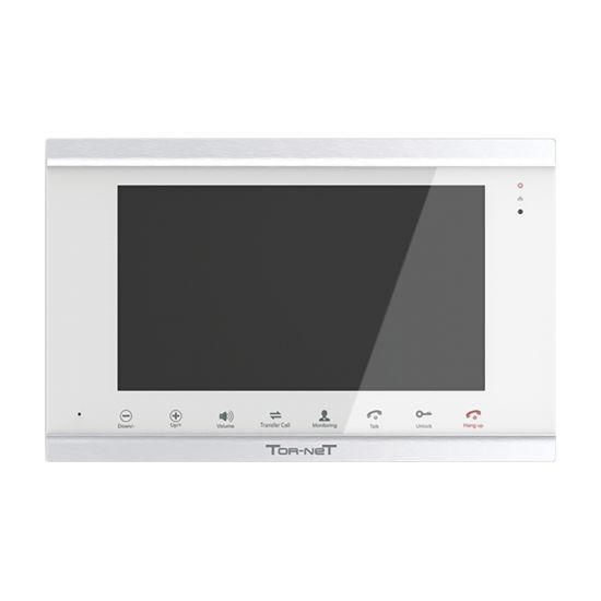 Монитор Tor-net TR-41 IP видеодомофона (черный, белый)