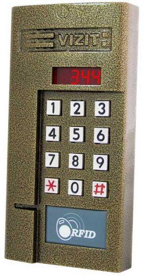 Блок вызова домофона Vizit БВД-344 R