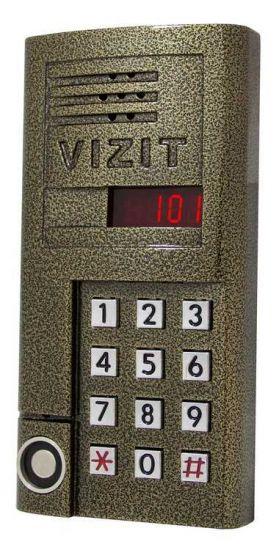 Блок вызова домофона Vizit БВД-SM 101T