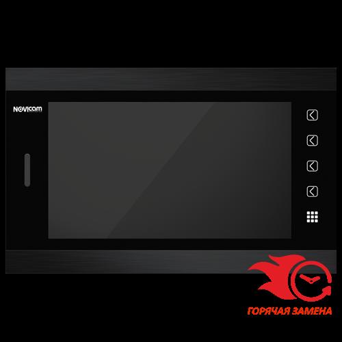 Монитор Novicam MAGIC 10 HD (белый, черный) видеодомофона