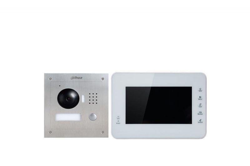 IP Комплект Dahua VTK-VTO2000A-VTH1560BW(S) видеодомофона
