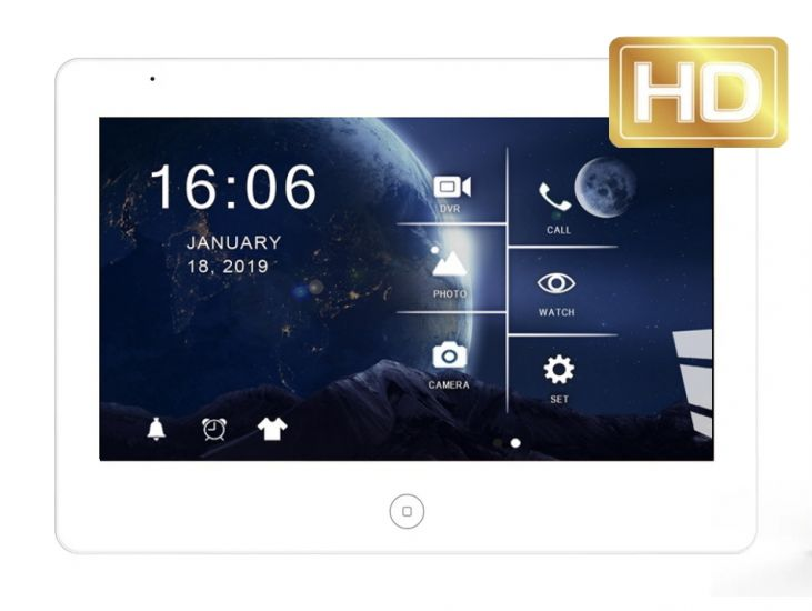 Монитор JVS GRANT HD Wi-Fi видеодомофона