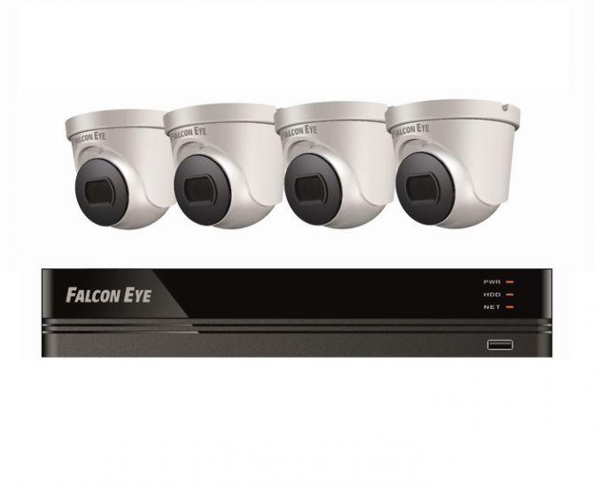 Комплект Falcon Eye FE-104MHD KIT Дом SMART видеонаблюдения