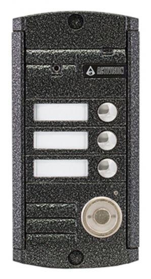 Панель Activision AVP-453 ТМ PAL (медь, антик) вызывная для видеодомофона