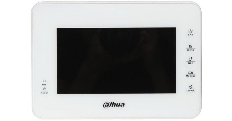 Монитор Dahua DH-VTH1560BW (черный, белый) видеодомофона