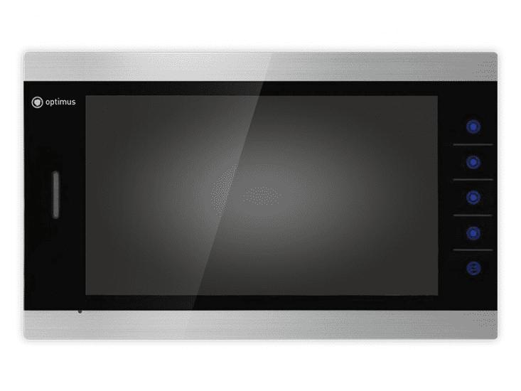 Монитор видеодомофона Optimus VMH-10.1 AHD (белый, золото, серый)