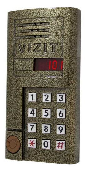 Блок вызова домофона Vizit БВД-SM 101R