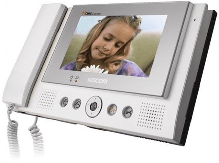 Монитор Kocom KCV-801R видеодомофона