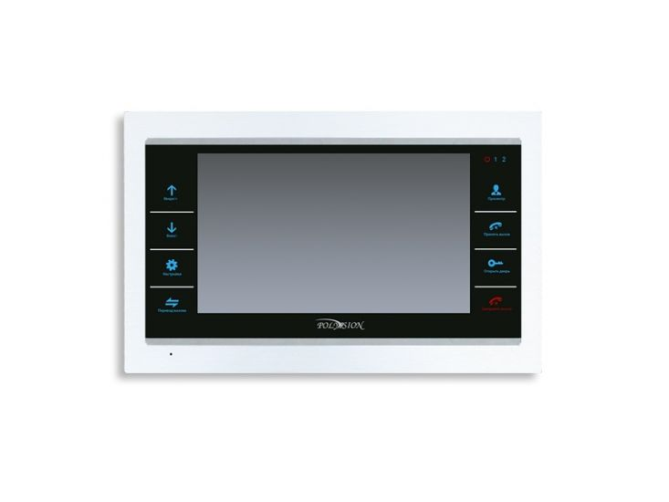 Монитор Polyvision PVD-1000 (белый) видеодомофона