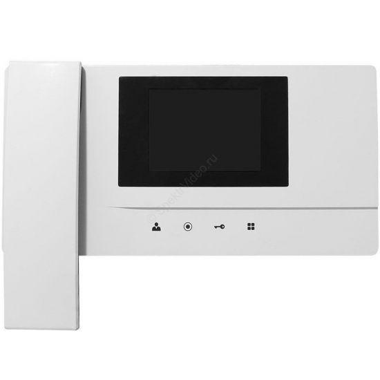 Монитор Pilot-4B (белый) для видеодомофона
