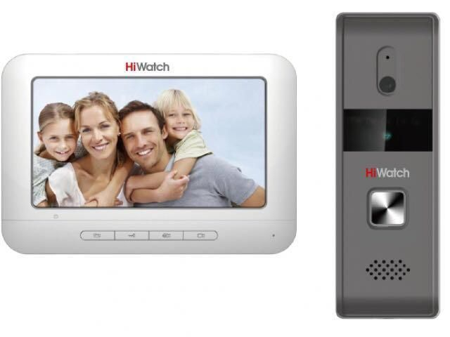Комплект HiWatch DS-D100KF видеодомофона