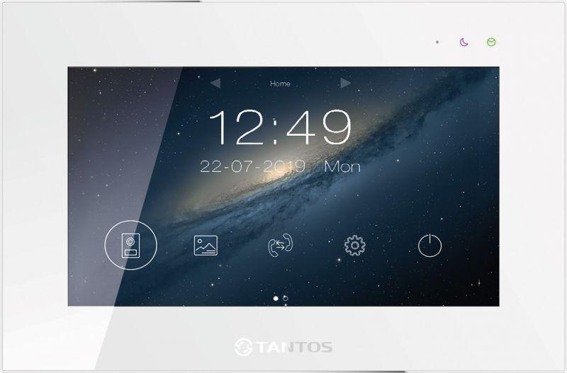 Монитор Tantos Marilyn HD Wi-Fi IPS (белый, черный) видеодомофона