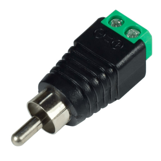 Разъем Ssdcam RCA c клеммной колодкой