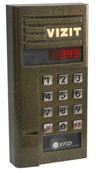 Блок Vizit БВД-343 R вызова домофона