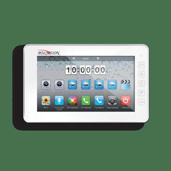 Монитор Polyvision PVD-7L v.7.1 (белый) видеодомофона