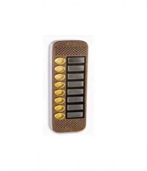 Панель Major Classic PRO2/8 (медь) вызывная на 8 абонентов для видеодомофона