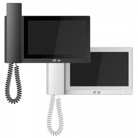 Монитор Dahua DH-VTH5221E-H (черный, белый) видеодомофона