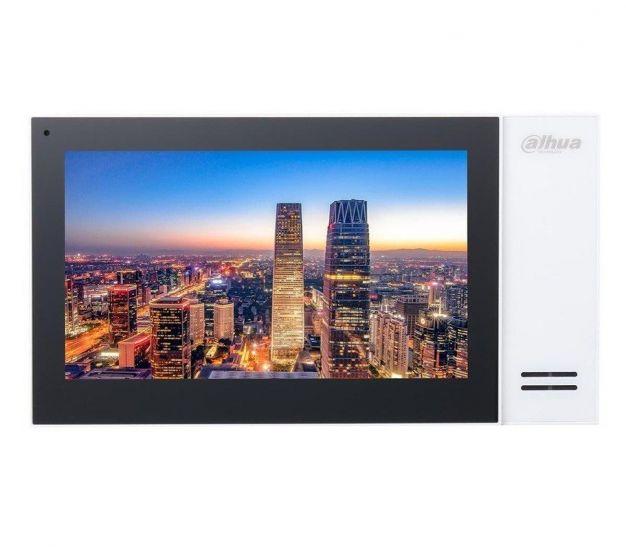 Монитор Dahua DH-VTH2421F (белый, черный) видеодомофона