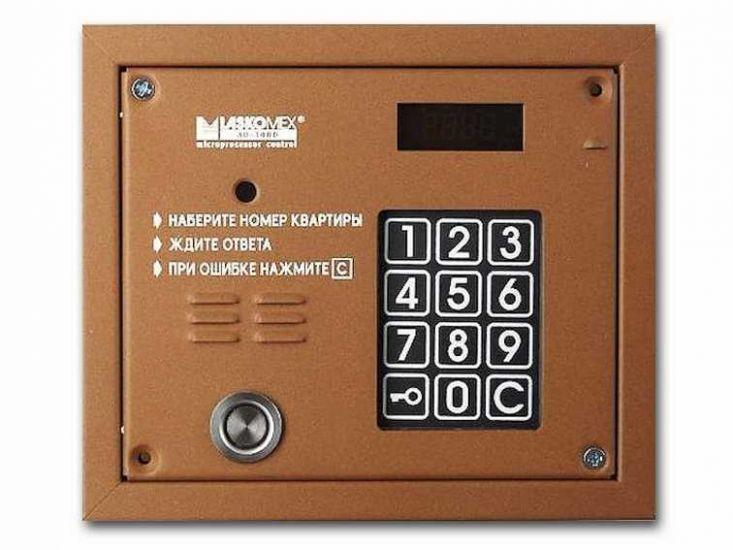 Блок вызова домофона Laskomex AO-3000 VPR (bronze)